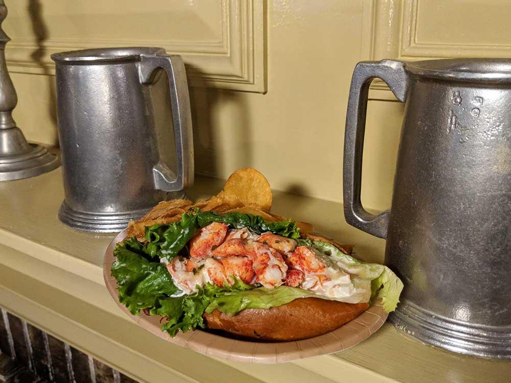 Magic Kingdom Quick Service Restaurants - Lobster Roll