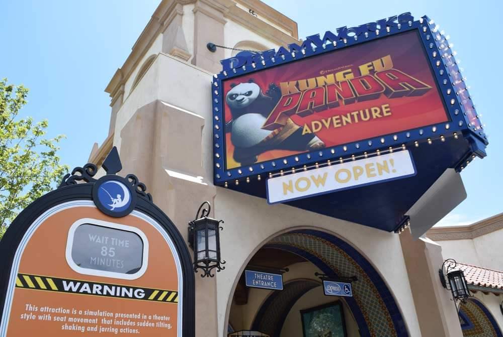 Universal Studios Hollywood - Kung Fu Panda