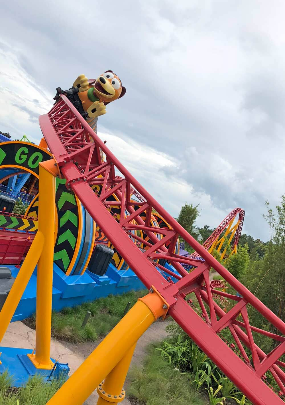 Slinky Dog Dash - Toy Story Land at Disney's Hollywood Studios