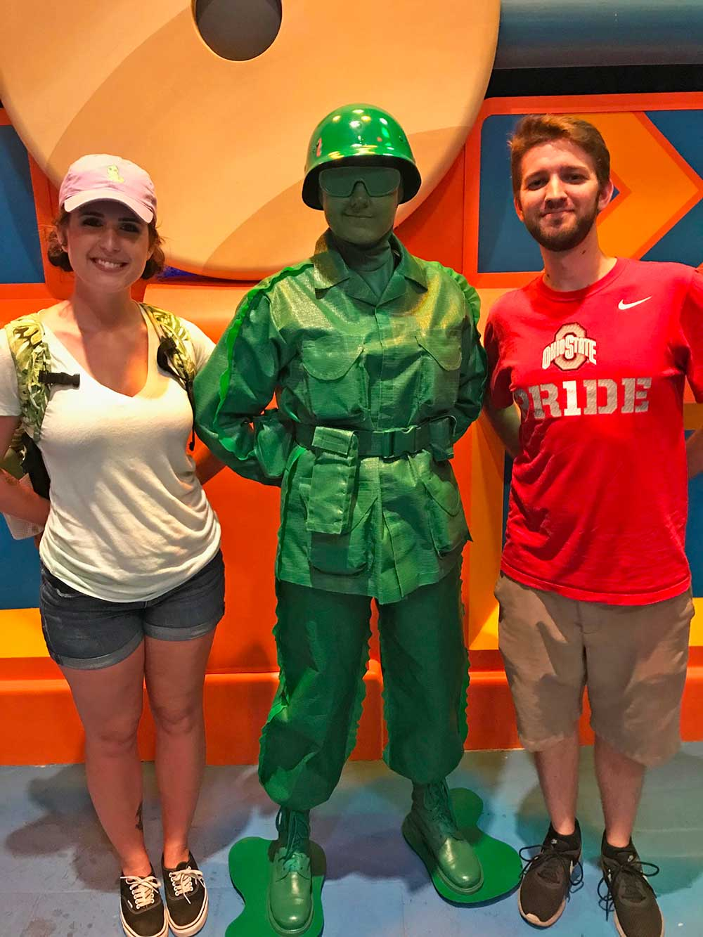 Toy Story Land - Green Army Men