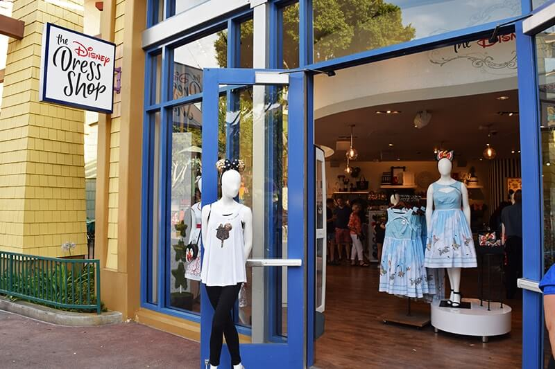 The Ultimate Guide to Downtown Disney at Disneyland - Dress Shop