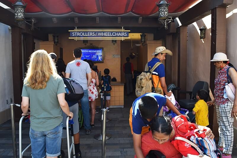 Using a Wheelchair at Universal Studios Hollywood - Wheelchair Rentals