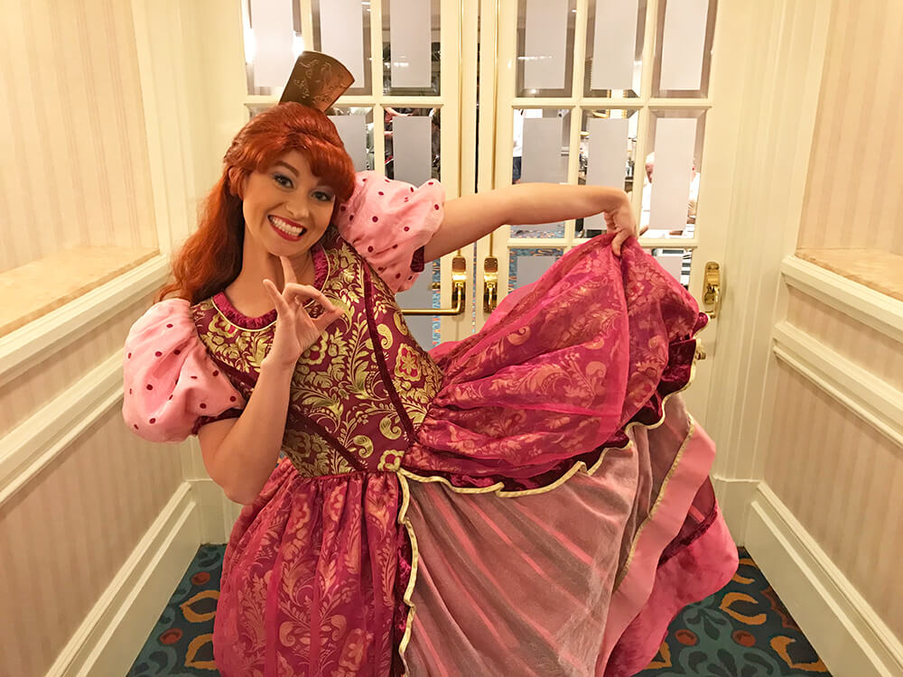 Disney World Dining Reservations - Anastasia