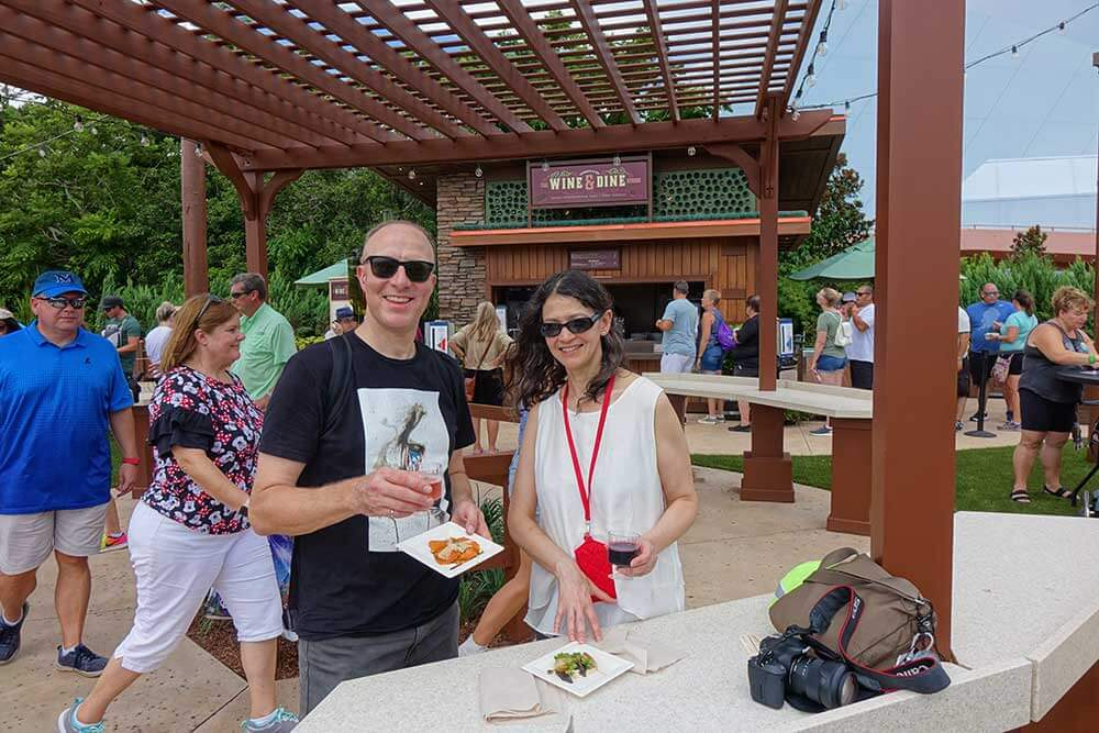 Epcot Food and Wine Festival 2019 - Wine and Dine