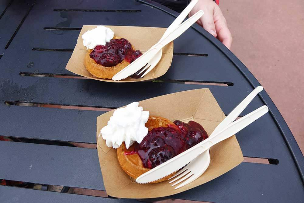 Epcot Food and Wine Festival 2019 - Waffles