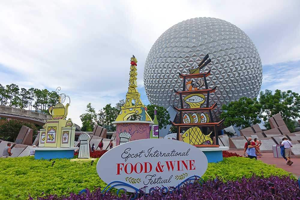 Epcot Food and Wine Festival 2019 - Spaceship Earth
