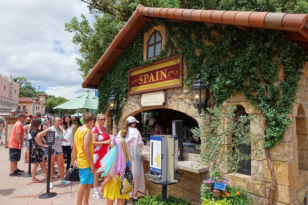 Epcot Food and Wine Festival 2019 - Spain