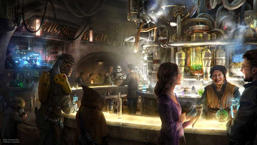 Star Wars Land - Oga's Cantina
