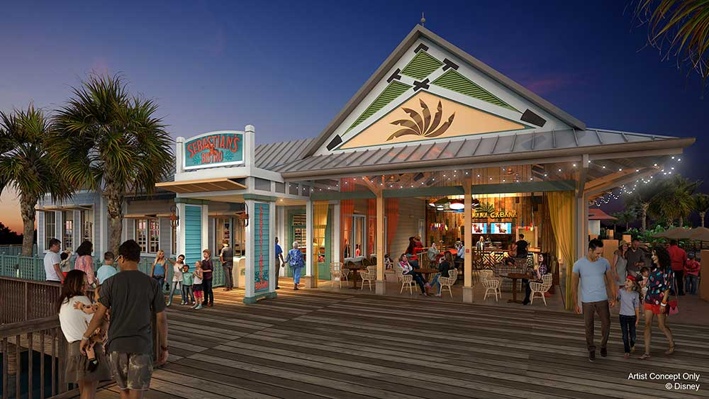 2 Dining Spots Are Coming to Disney's Caribbean Beach Resort