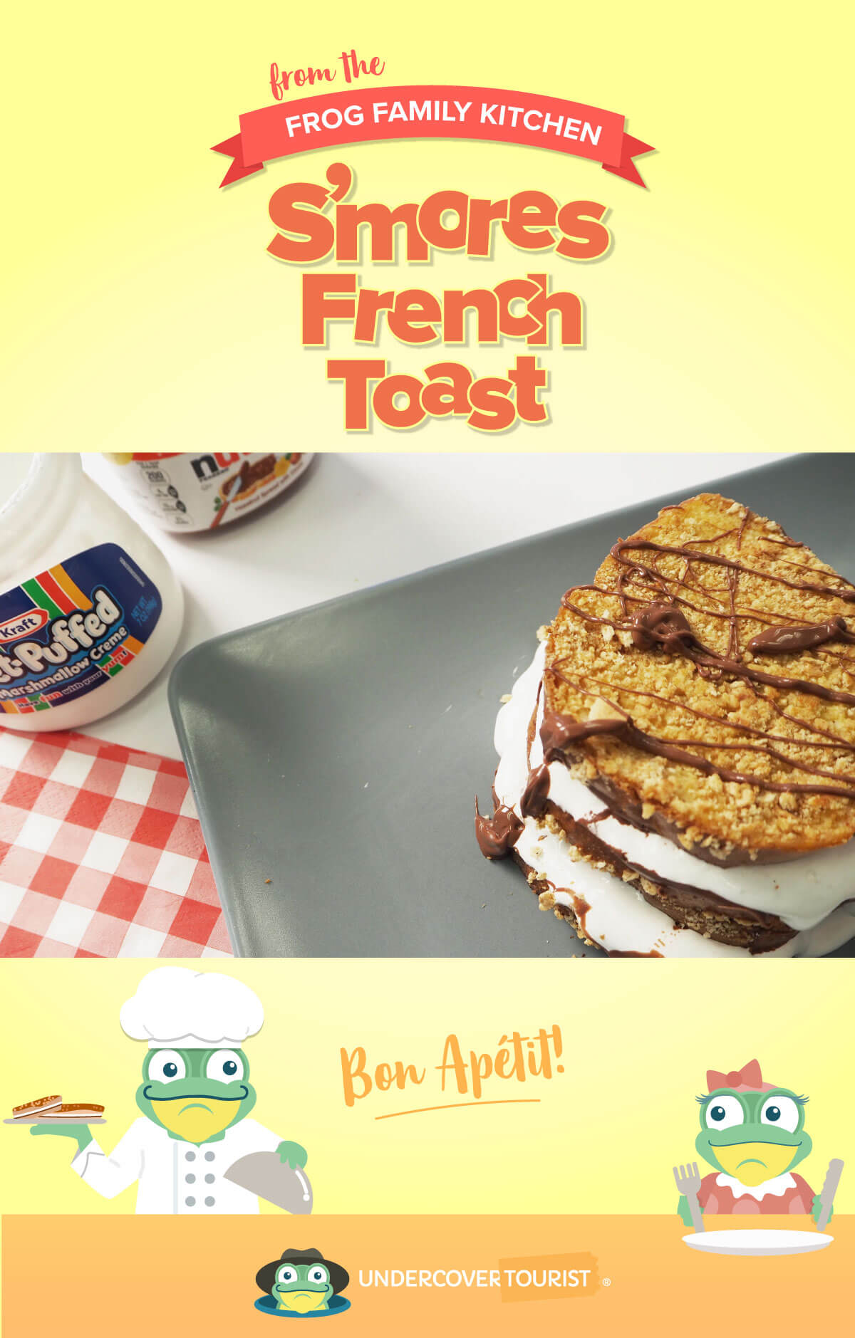 Toy Story Land S'Mores French Toast Sandwich Recipe
