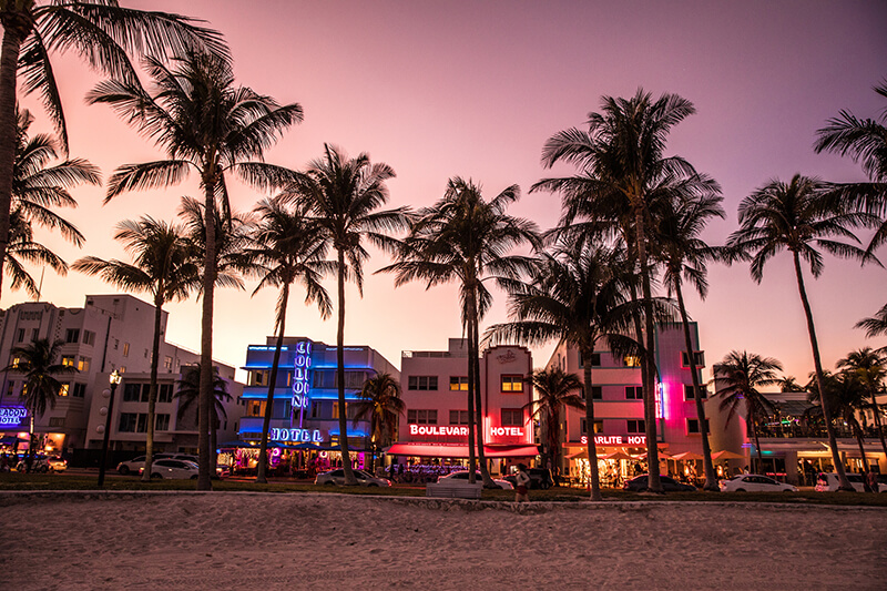 Top Things to do in Miami with Kids - Ocean Drive
