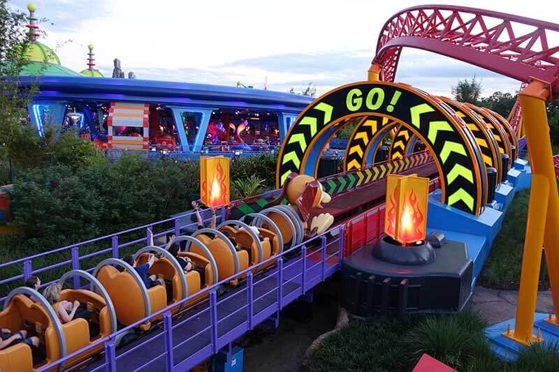 Disney World FastPass+ Tips - Slinky Dog Dash