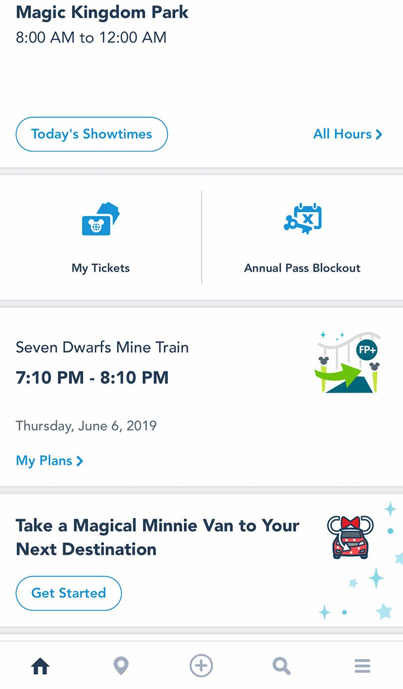 Disney World FastPass Plus Tips - Using My Disney Experience