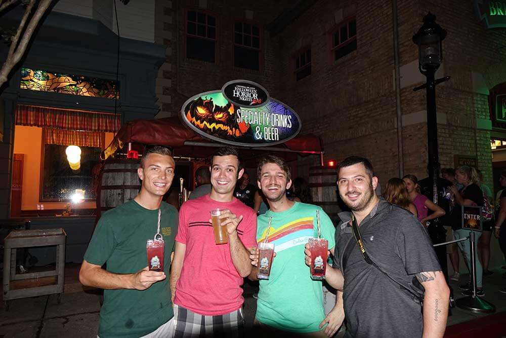 Halloween Horror Nights Orlando - Drinks