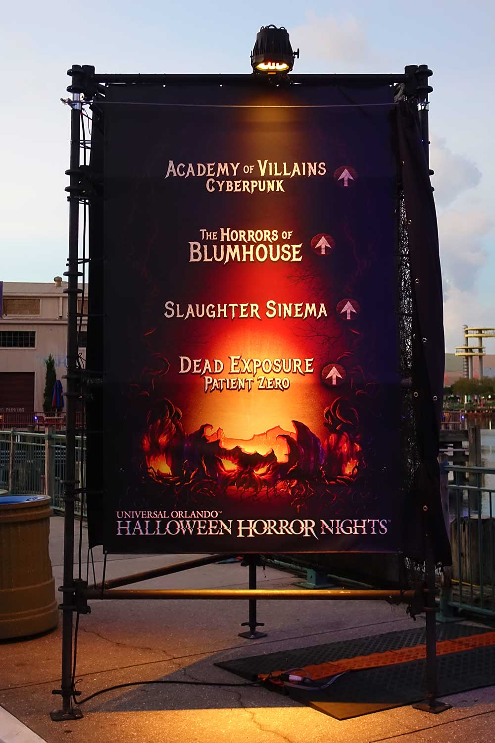 Halloween Horror Nights Orlando 2019 - Haunted Houses