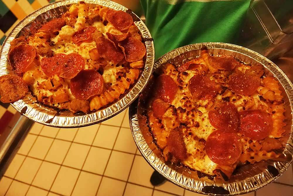 Halloween Horror Nights Orlando - Pizza Fries