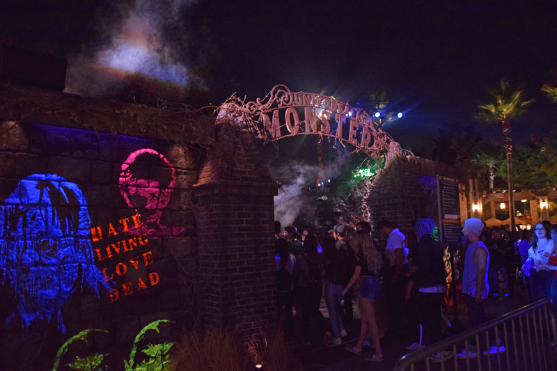 Halloween Horror Nights Hollywood 2018 - Universal Monsters