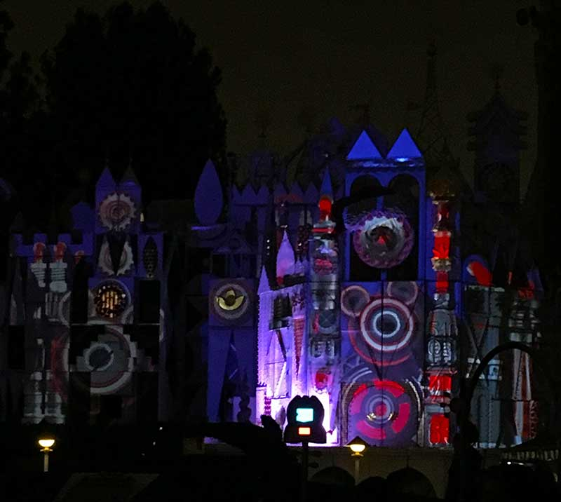 Best Places to View Disneyland Fireworks - its a small world