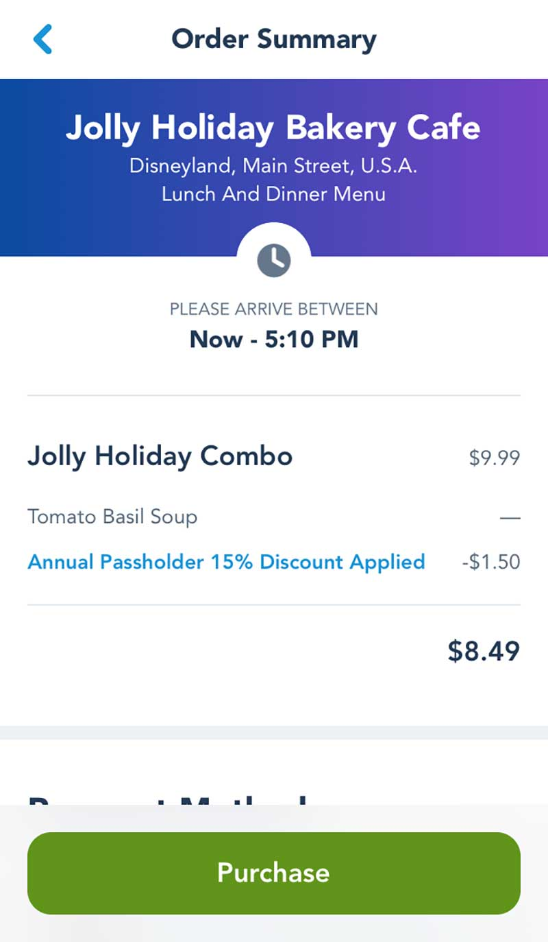 Disneyland Mobile Ordering Service - How to Use