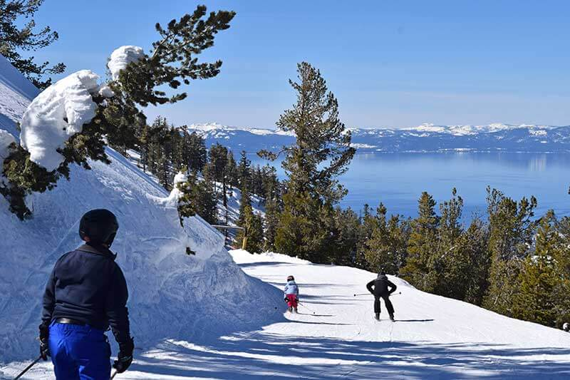 Best Tahoe Ski Resorts for Families - Heavenly