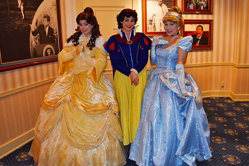 Our Royally Good Guide to Meeting Princesses at Disneyland - Rainy Day Meet and Greet