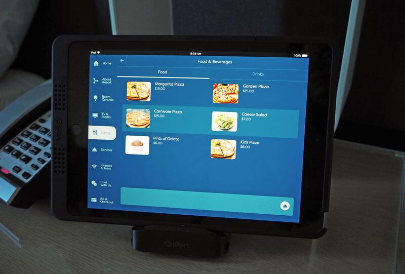 Universal's Aventura Hotel - Aventura Room Tablet