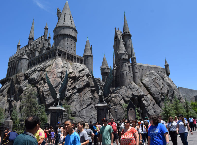 Best Times To Visit Universal Studios Hollywood 2019 and 2020 - Wizarding World of Harry Potter