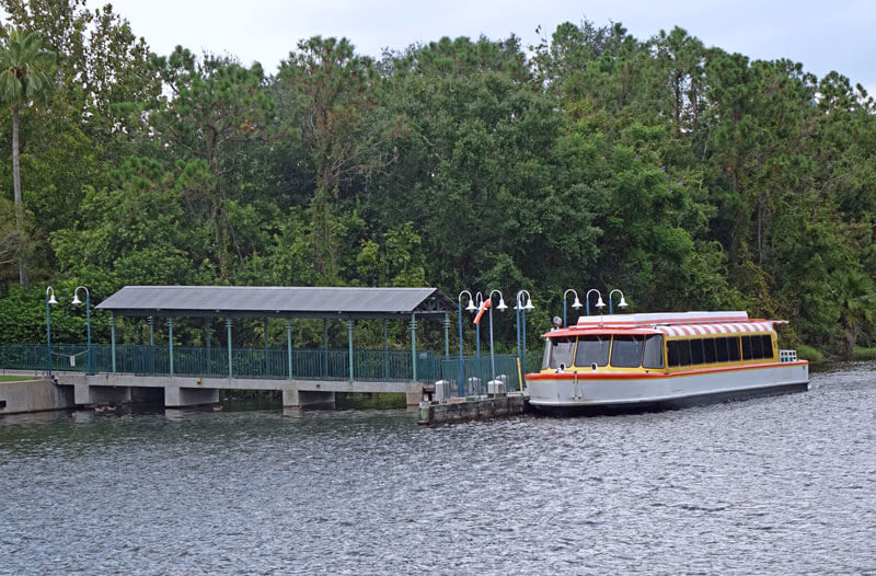 Hollywood Studios Boat to Epcot