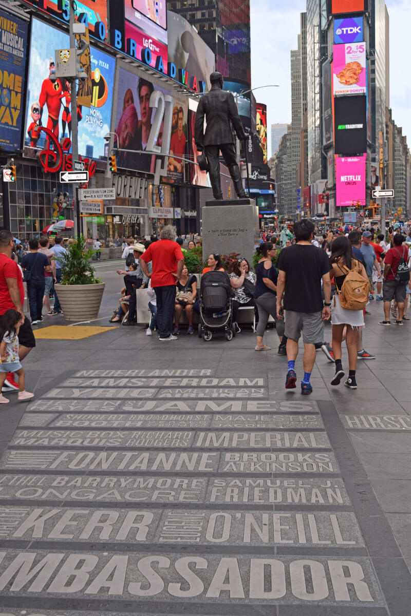 New York's Times Square Pedestrian Plaza