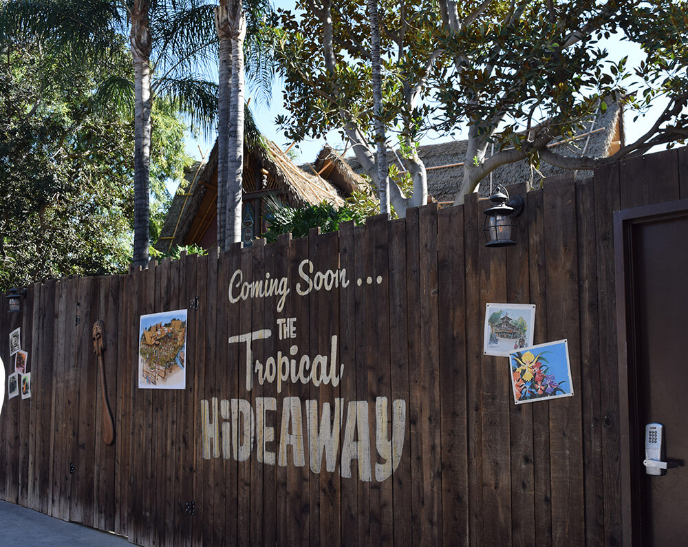 Tropical Hideaway - What Opened at Disneyland and Universal in 2018