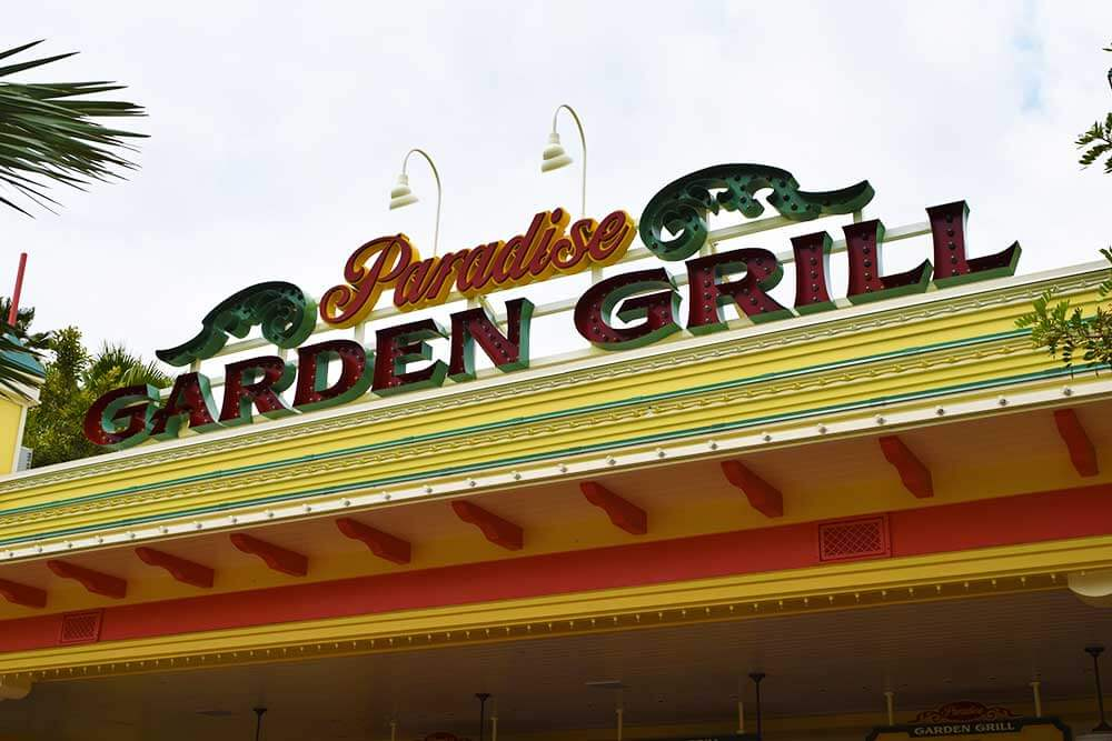 Disney California Adventure Quick-Service - Paradise Garden Grill