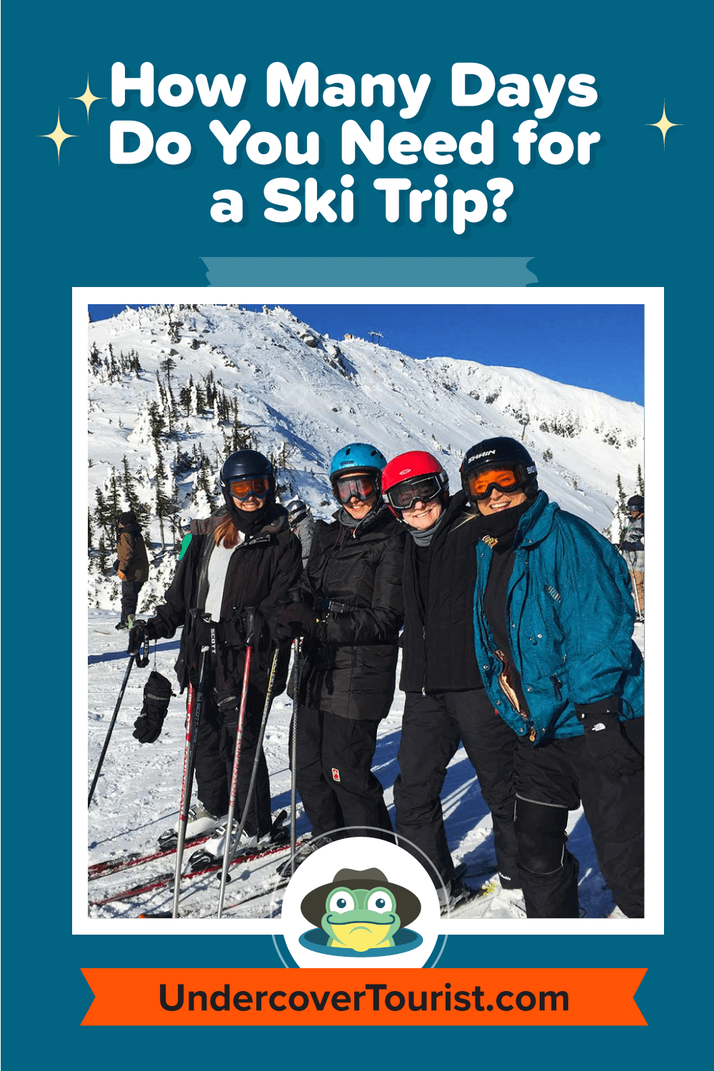 How Many Days Do You Need for a Ski Trip - Pinterest