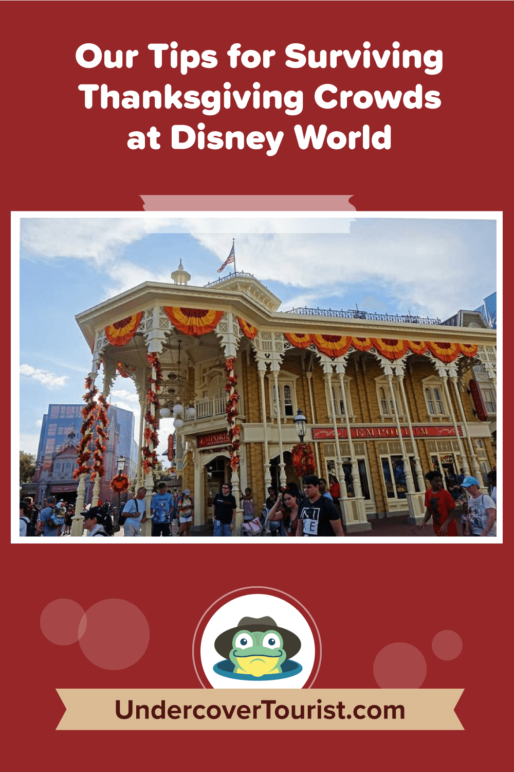 Thanksgiving at Disney World - Pinterest