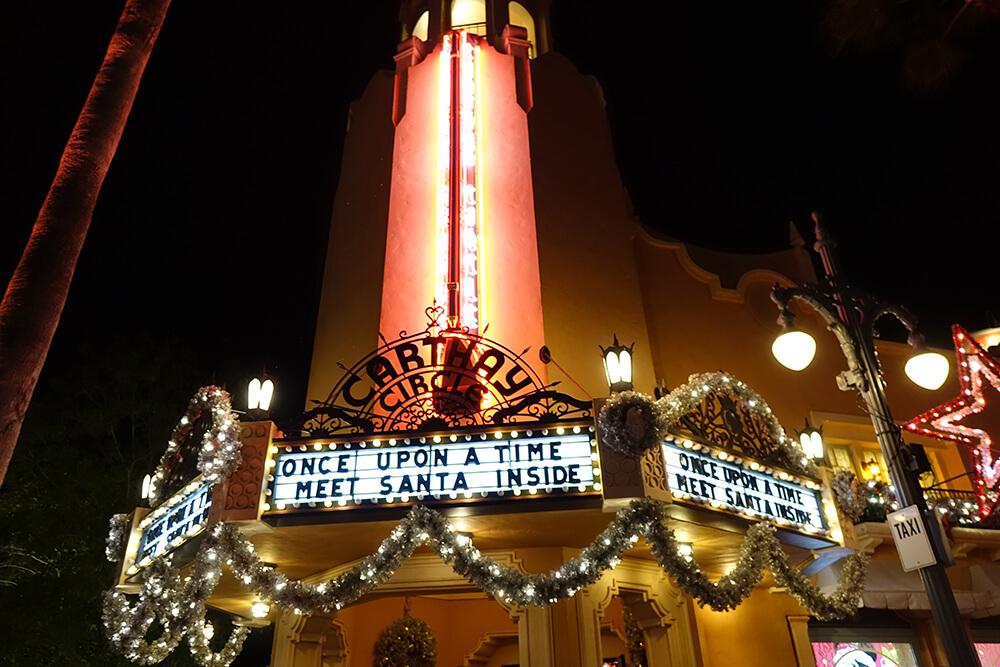 Disney World Christmas Events - Meet Santa Disney's Hollywood Studios