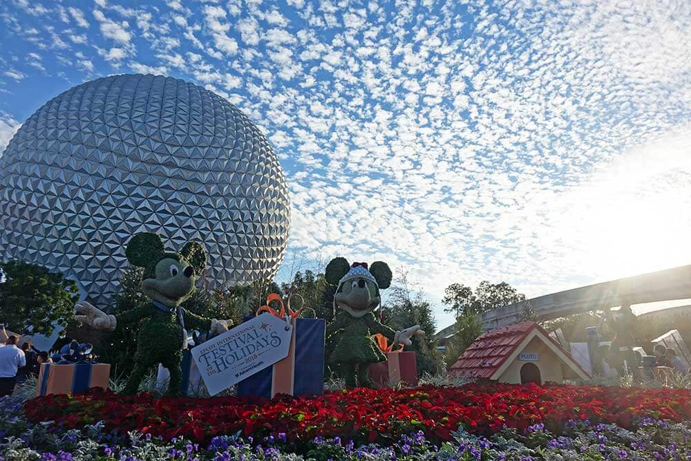 Epcot International Festival of the Holidays - Entrance