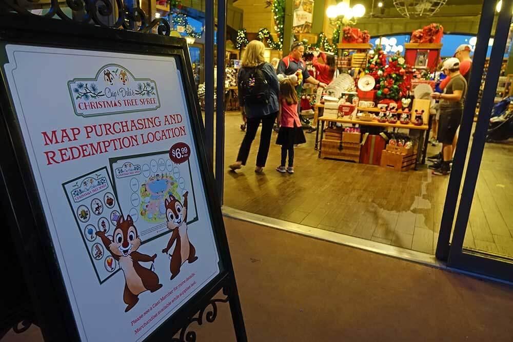 Epcot International Festival of the Holidays - Christmas Tree Spree