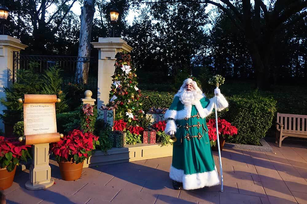 Epcot Festival of the Holidays - Father Christmas