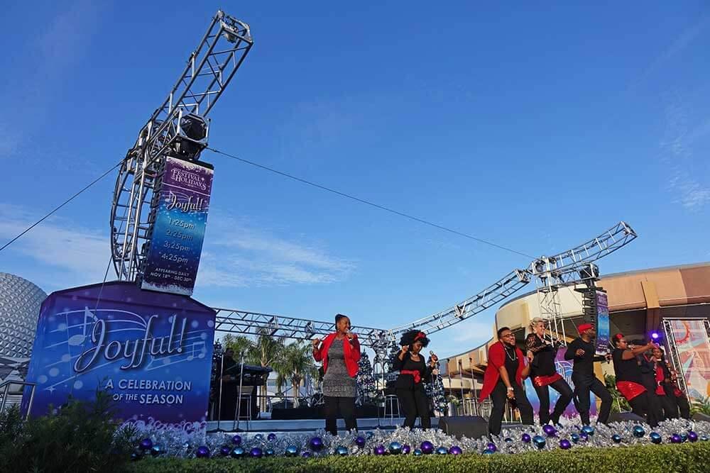 Epcot International Festival of the Holidays - Joyful
