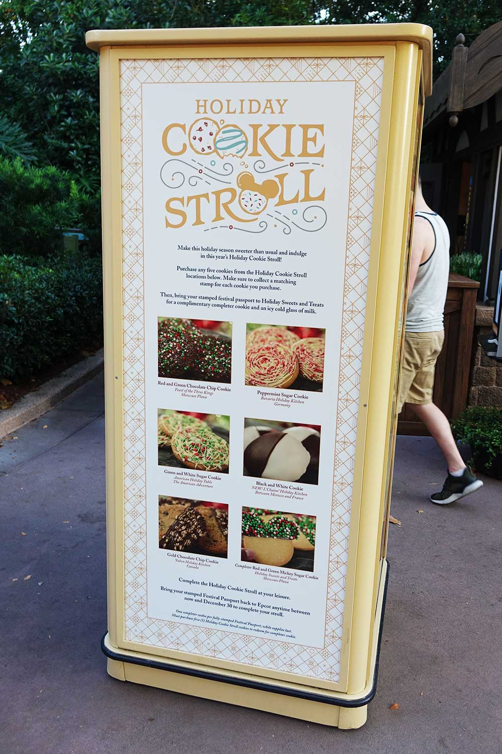 Cookie Stroll Debuts at Epcot's International Festival of the Holidays