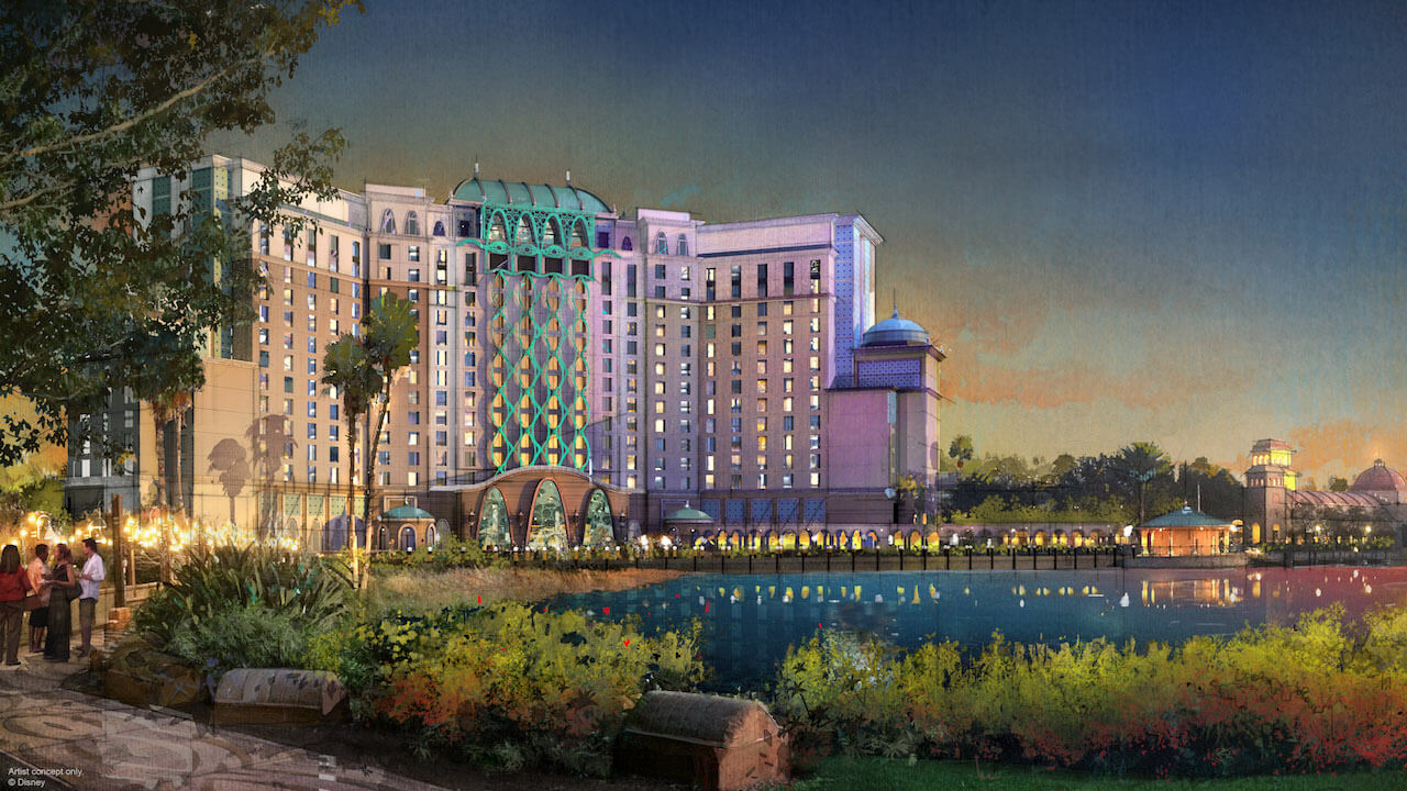 Gran Destino Tower at Disney's Coronado Springs - What's Coming to Disney World in 2019