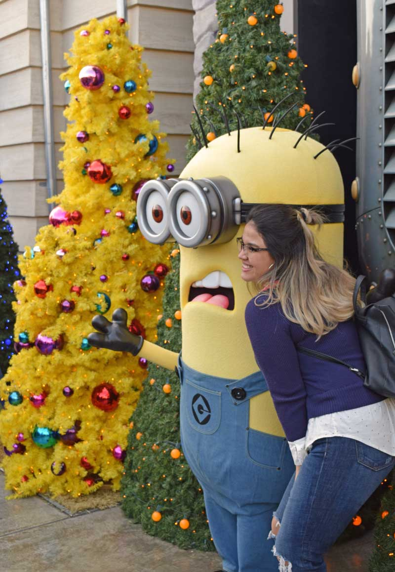 Holidays at Universal Studios Hollywood - Minions