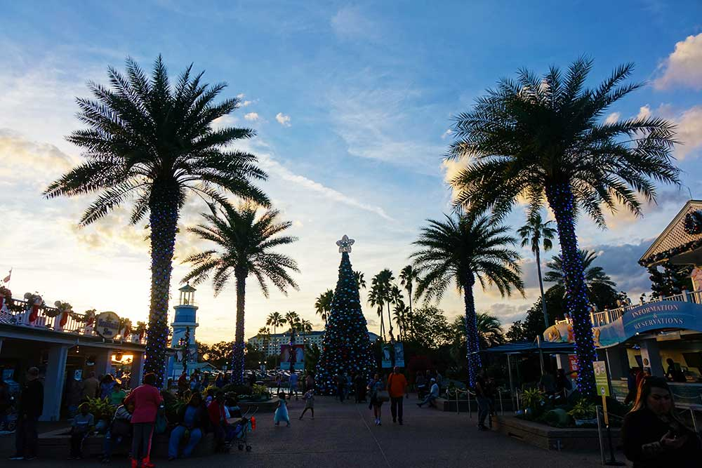 SeaWorld's Christmas Celebration - Trees