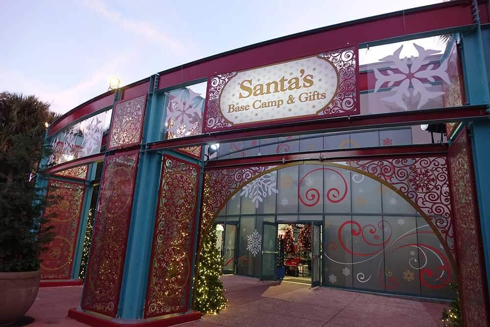 SeaWorld's Christmas Celebration - Santa's Base Camp