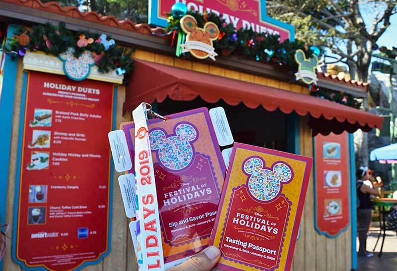 Our Guide to the Yummiest Holiday Treats and Foods at Disneyland - Festival of Holidays Pass