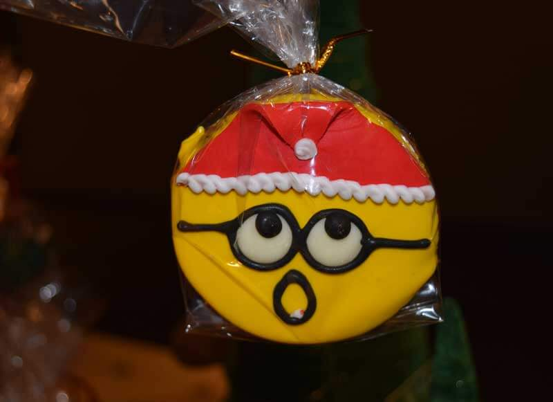 Minion Santa Cookie - Holidays at Universal Studios Hollywood
