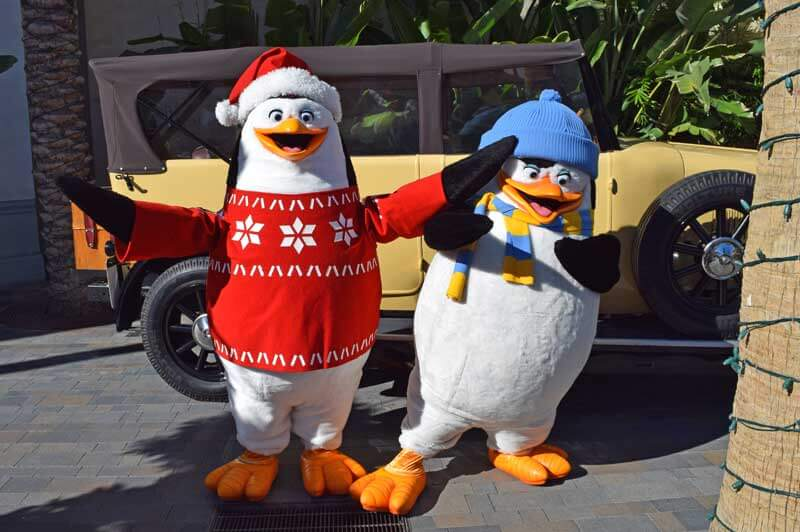 Penguins of Madagasgar - Holidays at Universal Studios Hollywood