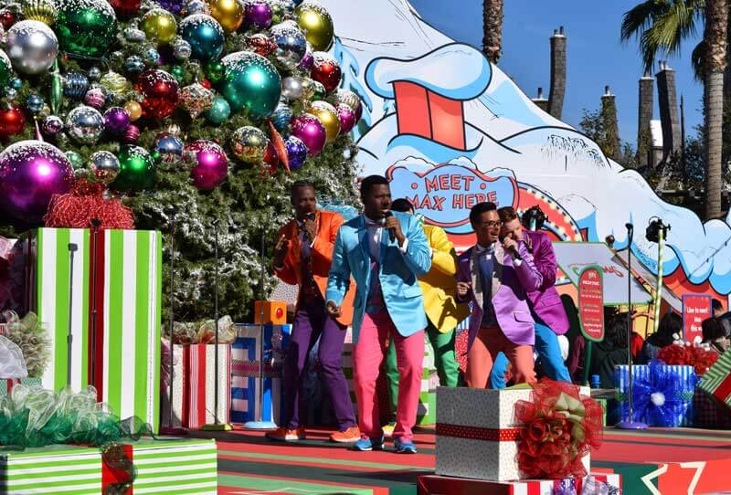 Whoville Singers - Holidays at Universal Studios Hollywood - Grinchmas 2018
