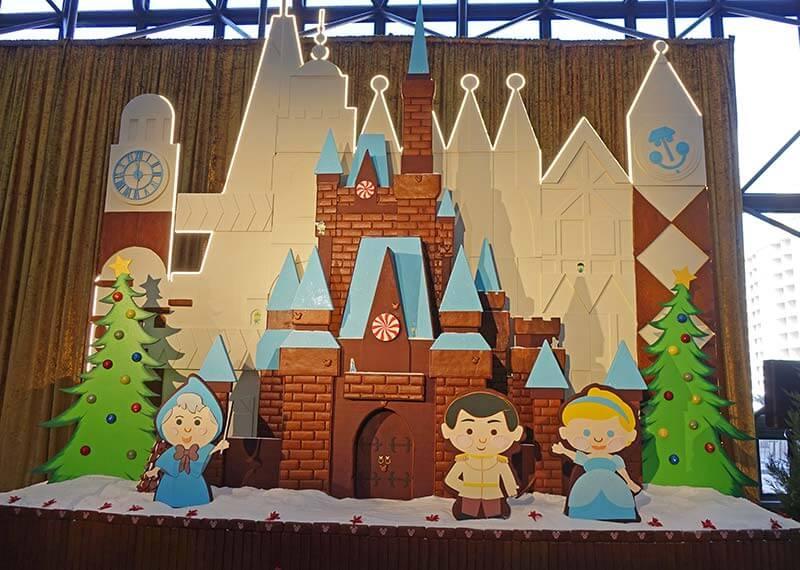 Disney World Resort Christmas Decorations - Contemporary Resort