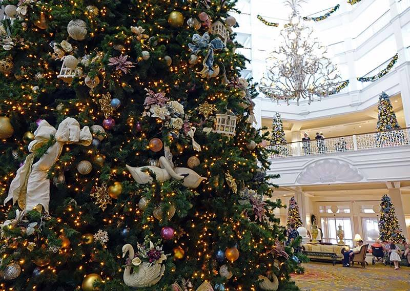 Disney World Resort Christmas Decorations - Grand Floridian Tree
