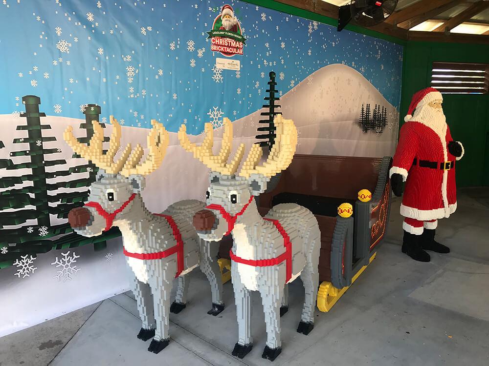 LEGOLAND Florida Christmas Bricktacular - Sleigh